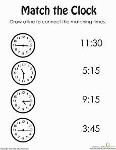 printable time worksheets for 1st grade 3732 rotary clock practice worksheet education
