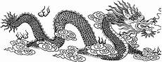 Ausmalbilder Chinesische Drachen In Clouds Coloring Page Free Printable