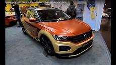 Volkswagen Vw T Roc Tuning Show Car With Air Lift