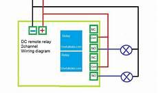 usefulldata com kaige 12v dual channel remote relay