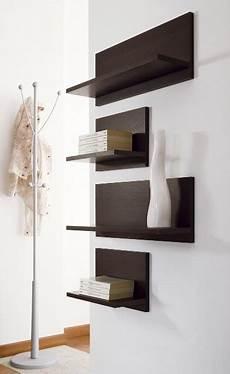 mensole bianche laccate mensola design da parete in legno tibor 60
