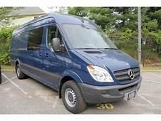 2011 Mercedes Benz Sprinter 2500 High Roof Cargo Van Data