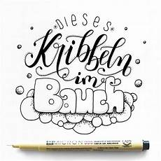 dieses kribbeln im bauch dieses kribbeln im bauchhand lettering spruch quot dieses