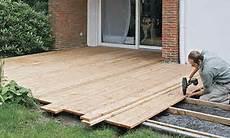 terrasse bauen selbst de