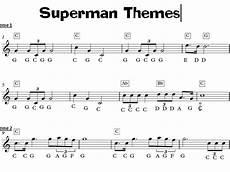 superman music keyboard task ks3 sheet music teaching resources