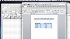 how to import a word form into an excel worksheet format microsoft excel tips youtube