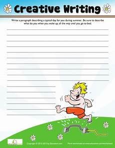 3rd grade worksheets free printables page 49 education com creative writing writing