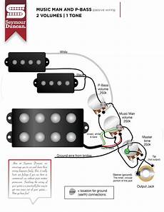 emg emg pj active bass pickup set black wiring diagram