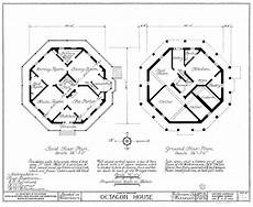 octagon house plan circular houses forum archinect