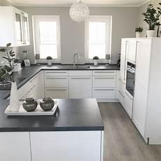 Küche Modern Landhaus - instagram wohn emotion landhaus k 252 che kitchen modern grau