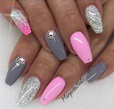 Bildergebnis F 252 R Nageldesign Glitzer Pink Nails Nail