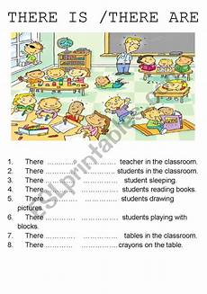 there is there are esl worksheet by sirenetta