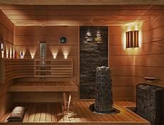 wellnessbereich selber bauen beta wellness sauna steinwand holz kombination beta wellness
