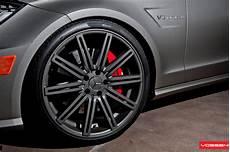 Mercedes Cls63 Amg On Vossen 20 Inch Rims Autoevolution