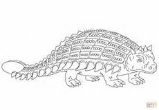 Ausmalbilder Dinosaurier Ankylosaurus Ausmalbild Ankylosaurus Gepanzerter Dinosaurier