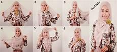 Cara Pakai Jilbab Segi Empat Cara Memakai Jilbab
