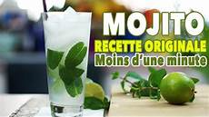 recette cocktail mojito mojito recette originale cocktail minute