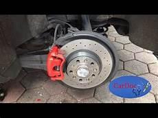 bremsscheibe bremsbel 228 ge hinten wechseln golf 5 gti brembo