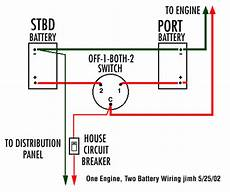 wiring battery selector switch the hull boating and fishing