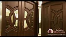 Porte De Bois Sur Mesure Custom Wood Door Les Portes