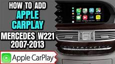 mercedes w221 2007 2013 s class carplay