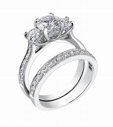 three stone engagement ring jonathan s fine jewelers