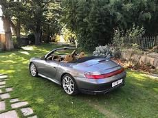 porsche 911 4s occasion porsche 911 996 4s 3 6i 320ch cabriolet gris