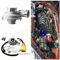 Electric Turbo Supercharger Kit Turbocharger Air Filter