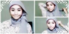 Referensi Model Jilbab Untuk Wajah Bulat Modis