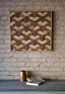 holz mosaik wand 100 ideen f 252 r faszinierende deko aus holz