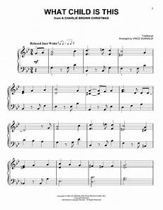 what child is this sheet music by vince guaraldi easy piano 162008