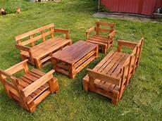 Upcycled Pallet Garden Furniture Set Pallet Furniture