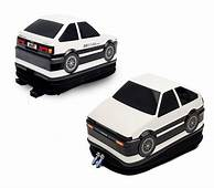Drift Back To School With An Initial D AE86 Backpack