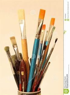painting brushes stock image image of decorator color