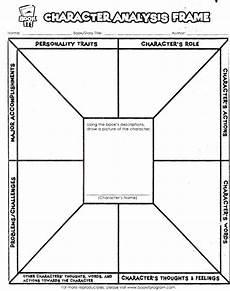 character analysis worksheet free printable worksheets