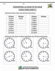 convert time worksheets grade 3 3454 24 hour clock conversion 12 to 24 hour clock 2 measurement math 24 hour clock