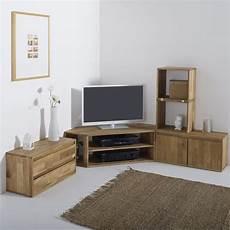 meuble tv angle chene massif meuble tv d angle ch 234 ne massif edgar en 2018 meuble