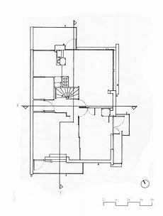 schroder house plans the rietveld schroder house hand drawings