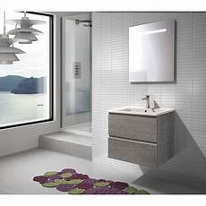 Meuble De Salle De Bain Suspendu 60cm Collection