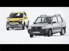 1990 Fiat Panda 4x4 Vs 2016 Fiat Panda 4x4 Comparatif