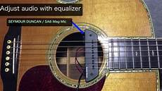 seymour duncan mag mic seymour duncan mag mic acoustic sound check