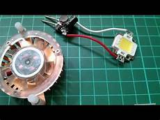 led tutorial light a 10w led from 12v simple cheap