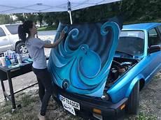 Painting A Car In Acrylics Nash Clark