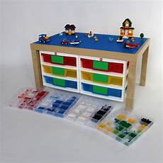 Large Play Table For Construction Toys With 6 By