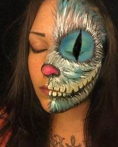 grinsekatze kostüm selber machen cheshire cat make up by crissabbathpaintart on deviantart