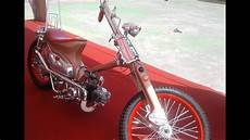 Modifikasi Honda C70 Chopper by Custom Cub Chopper Honda C70 Modifikasi Klasik