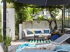 outdoor wohnzimmer gestalten dekorieren ikea
