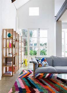10 Living Room Designs With Colorful Rug House Design