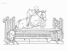 Ausmalbilder Pferde Springreiten Ausmalbilder Pferde Zum Ausdrucken
