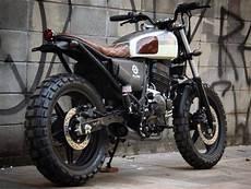 Modifikasi Motor Scrambler by Kawasaki Klx Modif Scrambler 1stmotorxstyle Org